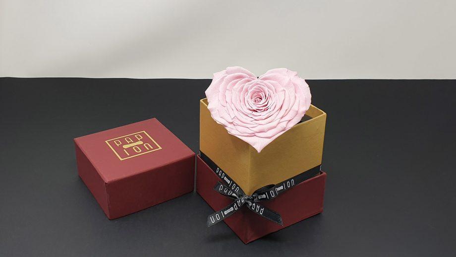 cofanetto-bordeaux-oro-cuore-rosa