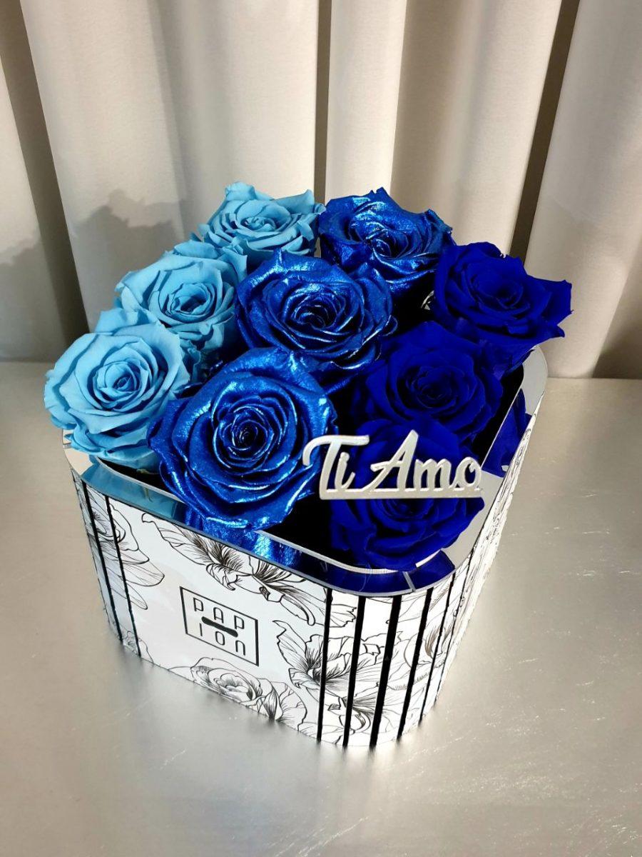 sfumatura blu
